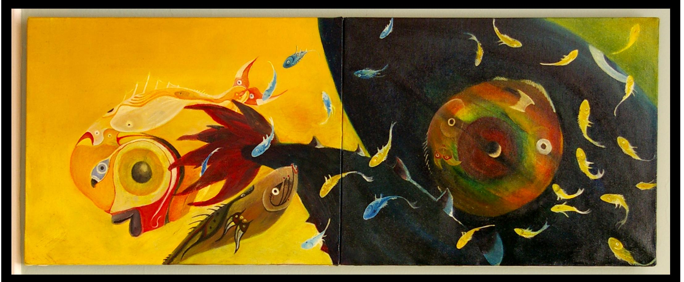 Oil on Canvas (sold)