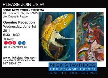 Shows: Fishes and Faces 2011